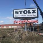 Stolz_Werbemast_Montage3