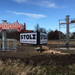 Stolz_Werbemast_Montage8