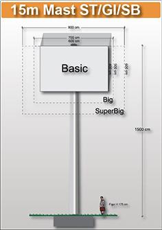 15m-mast-viereckig-preise-fuer-werbeturm24-werbemast