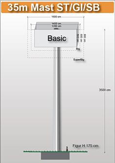 35m-mast-viereckig-preise-fuer-werbeturm24-werbemast