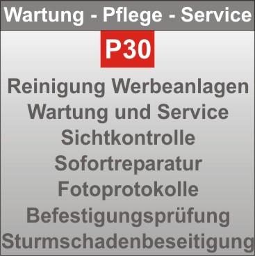 P30-Wartung-Pflege
