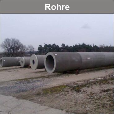 Rohre für den Bau von Werbetürmen. Verschiedene Rohrtypen und Rohrgrößen.